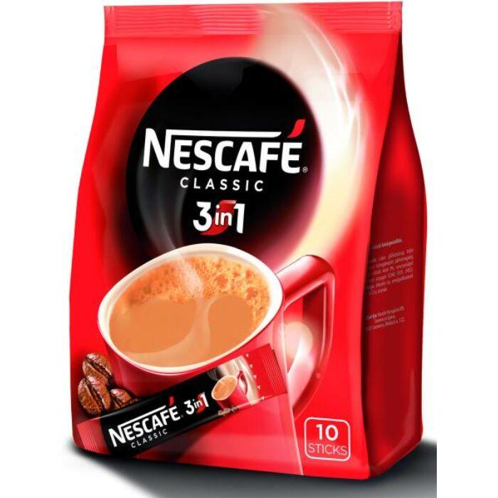 Nescafé 3in1 Azonnal Oldódó Kávéspecialitás (10x17g)