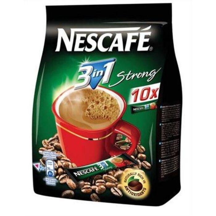 Nescafé 3in1 Strong Azonnal Oldódó Kávéspecialitás (10x17g)