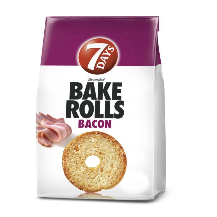 Bake Rolls Bacon Szalonna Ízű Ropogós Kétszersült 80g