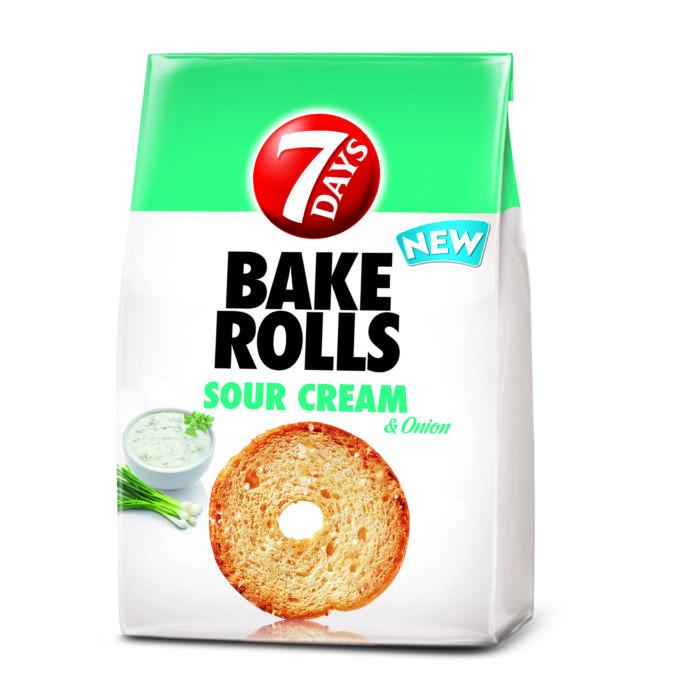 Bake Rolls Hagymás-Tejfölös Kétszersült  80g