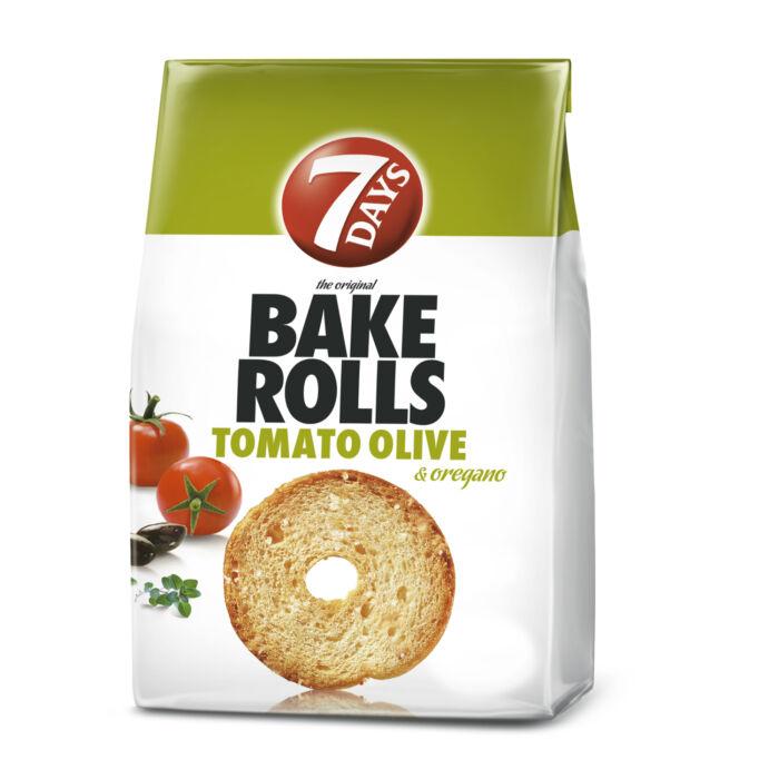 Bake Rolls Paradicsomos-Olajbogyós Oregánó Fűszerezésű Kétszersült  80g