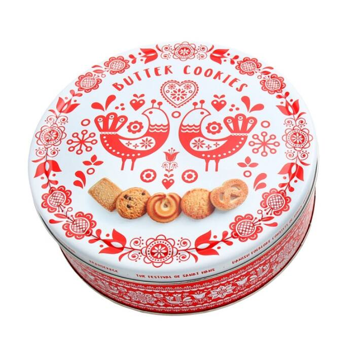 Butter cookies vajas keksz madaras fémdobozban 454g