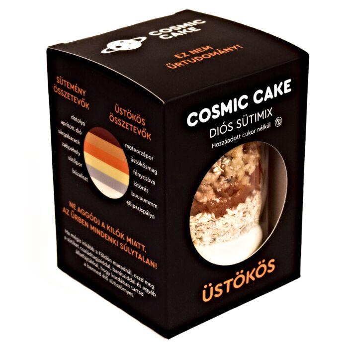 Cosmic Cake-Üstökös Diós Sütimix Hozzáadott Cukor Nélkül 425g