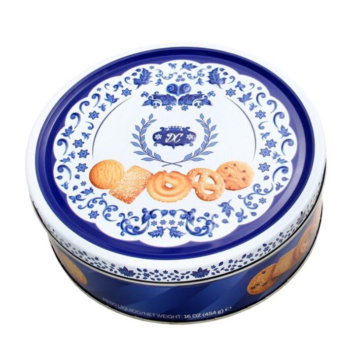 Butter cookies vajas keksz porcelán design fémdobozban 454g