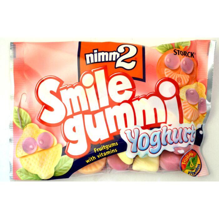 Nimm2 Smile vegyes  gyümölcsízű joghurtos gumicukor 100g