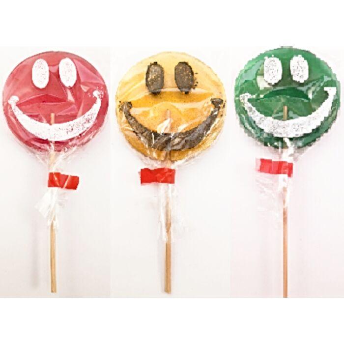 Smile Gyümölcsízű Keménycukorka Nyalóka 40g(1db)