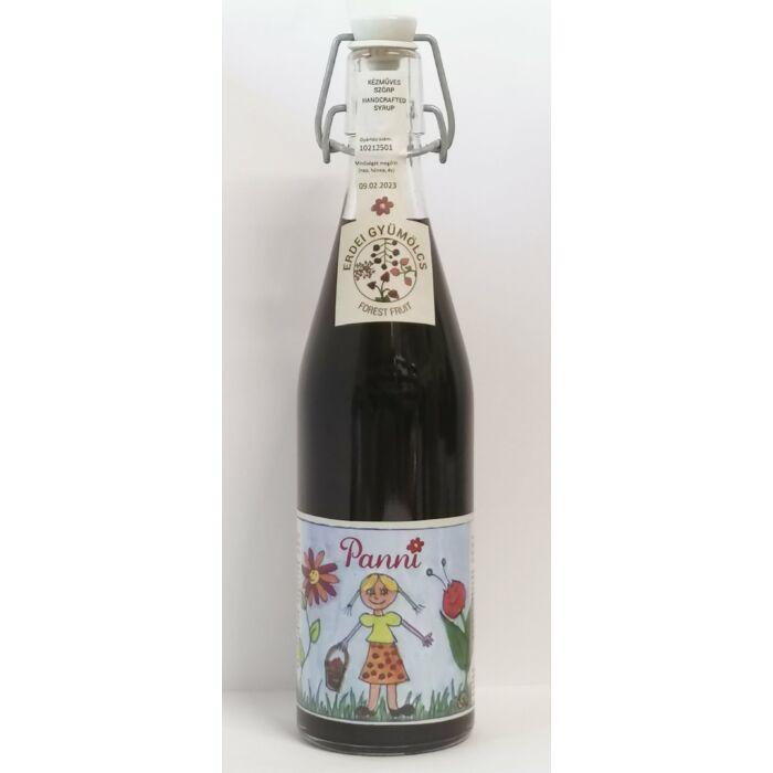 Prémium Panni Kézműves Erdei Gyümölcs Szörp Csattosüvegben 500ml