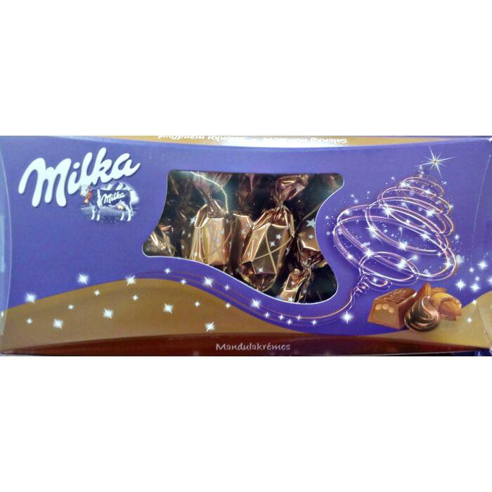 Milka Alpesi Tejcsokoládé Szaloncukor Mandulás Krémtöltelékkel 310g
