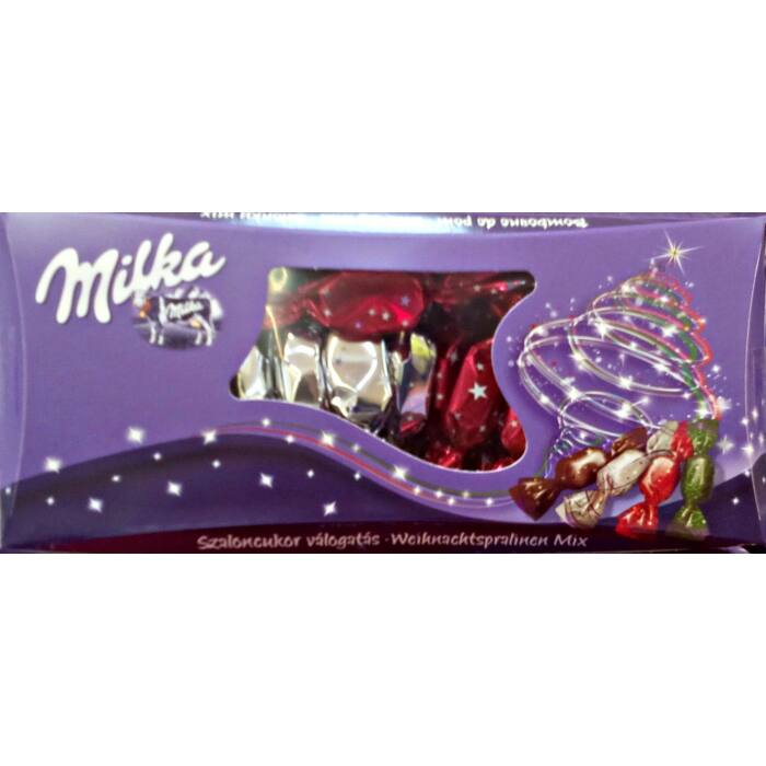 Milka Alpesi Tejcsokoládé Szaloncukor Válogatás 310g