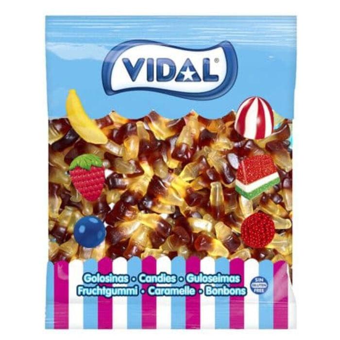 Vidal Cola Ízű Gumicukor 1000g