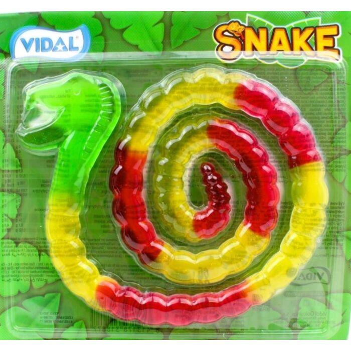 Gyümölcs ízű gumicukor - Kígyó 66g